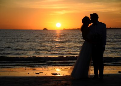 Fort Myers Beach Sunset Wedding