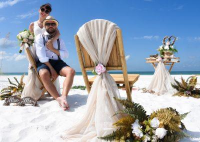 small beach wedding sw floridabeach wedding smm