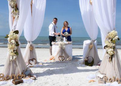 beach ceremony florida